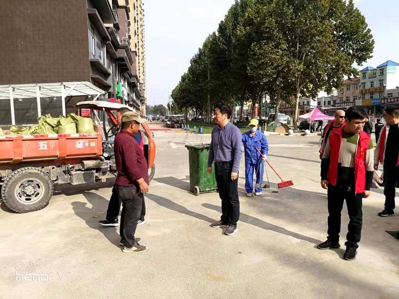 """高阳路街道办事处开展""""志愿者活动""""助力文明城市创建2.jpg"""