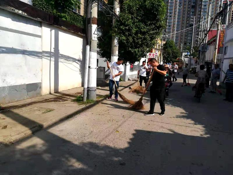 """高阳路街道开展乡村环境整治助力""""四城联创"""".jpg"""