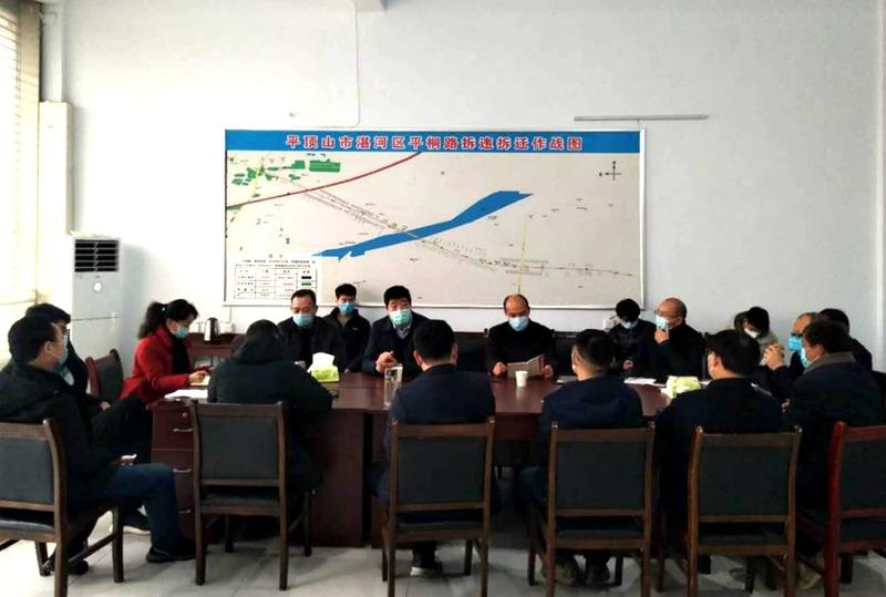 副区长金武军组织召开平桐路绿化提质复工复产工作会议1.jpg